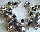 Charm Bracelet inspired by Edgar Allan Poe