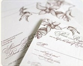 Adrienne Swash - PRINTABLE Wedding Invitation - Vivian Collado Designs
