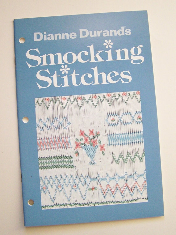 Dianne Durand's Smocking Stitches 1980 Paperback Booklet