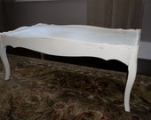 Antique French Provincial Style Coffee Table