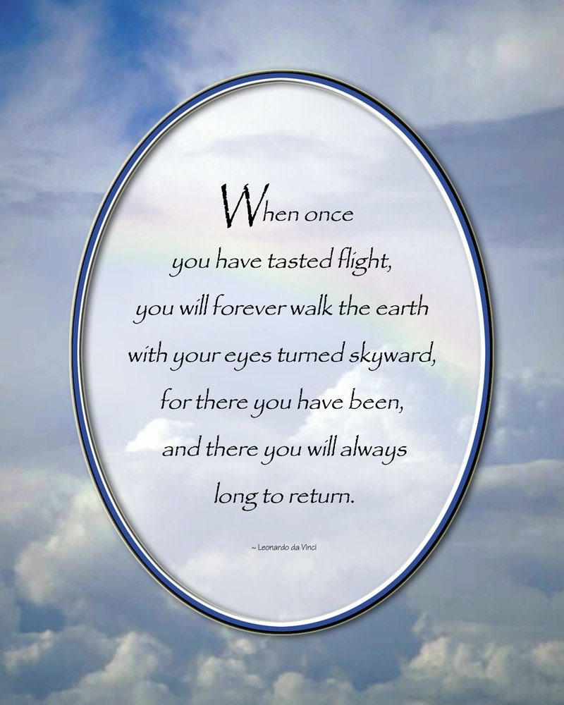Quotes About Flying: Davinci Flying Quotes. QuotesGram