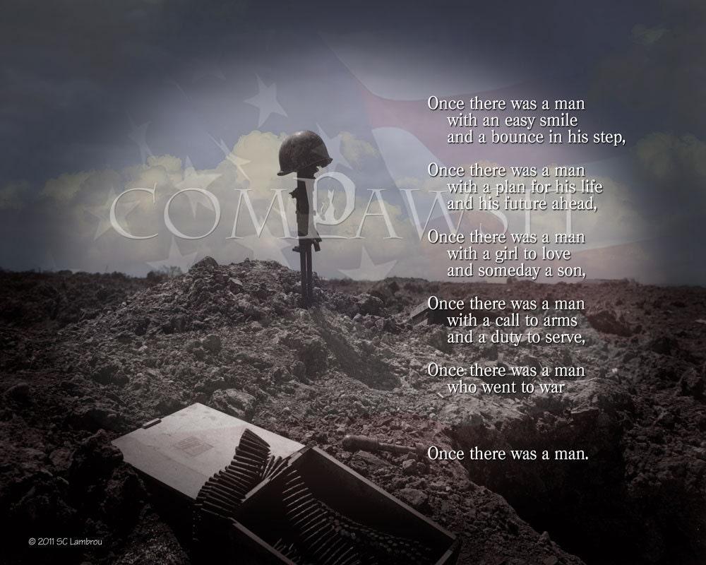 Fallen Soldier Quotes Combat Memorial Soldier's Cross Tribute To America's
