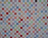 Moda Pampered Pooch postage stamp quilt reserved for ThistleCreekCottage 5-19