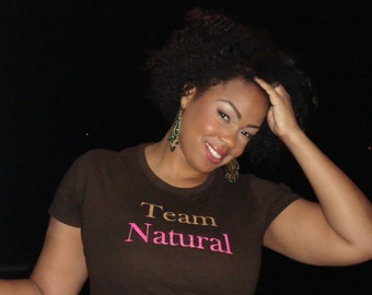 Large Team Natural Fitted T-Shirt