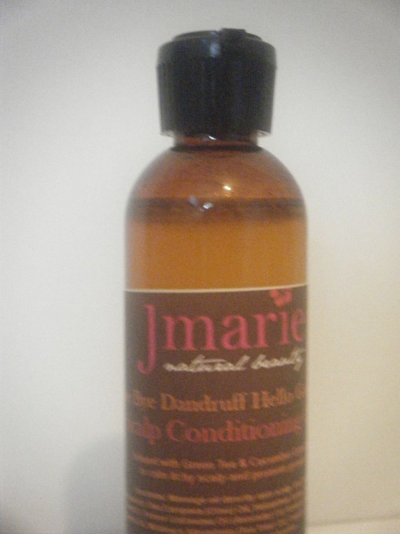SALE Bye Bye Dandruff Hello Growth Scalp Conditioning Oil  Infused with Green Tea & Cucumber Extracts