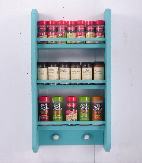 Items Similar To Large Spice Rack Wall Hanging Any