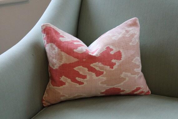 Kelly Wearstler Bengal Bazaar Apricot Lumbar Cushion