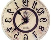 Alice in Wonderland  Backwards clock