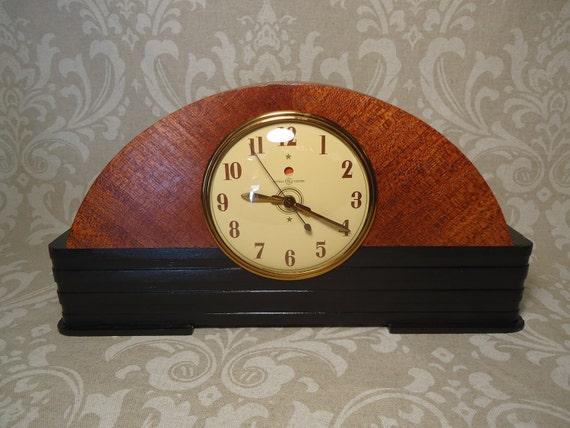 RESTORED GE Mantle Clock
