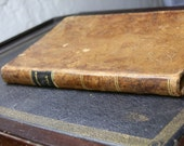 1825 Full Leather hardcover. A Call to the Unconverted. Rev. Richard Baxter. Collectible.