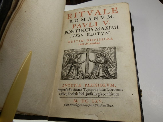 The Rituale Romanum: Powerful Exorcism