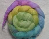 101 Merino/Tussah Silk Roving - 3.5 oz