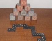 Alphabet Blocks and Dominoes