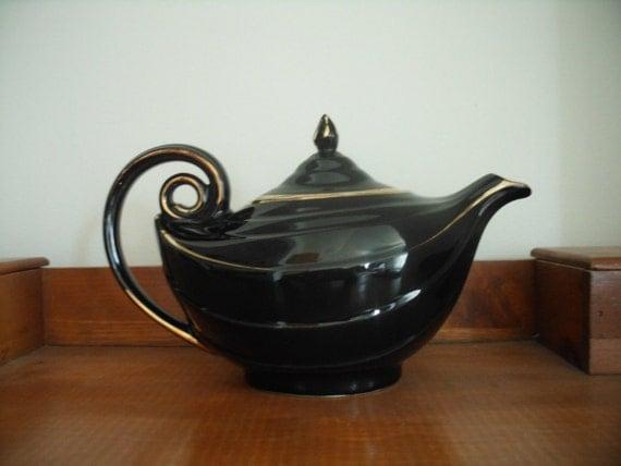 Vintage hall aladdin teapot by pinkpalmtree on etsy - Aladdin teapot ...