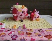 Blankie and 2 Soft Blocks SET - Lil Princess