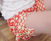 Ceci Shorts for Girls 12M - 8Y - Tie hem - Pleated pockets - Elastic waist -  Easy Sew - PDF Pattern and Instruction