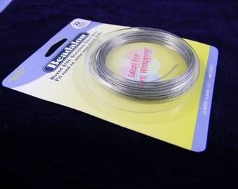 Beadalon Surgical Grade Stainless Steel 22gauge Round HH Wire