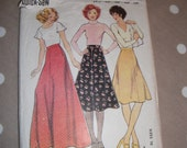 Vintage Maudella 1970s Skirt Pattern no 5929 size 10 to 18