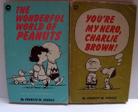 Peanuts and Charlie Brown Paperback Books Charles M. Schulz