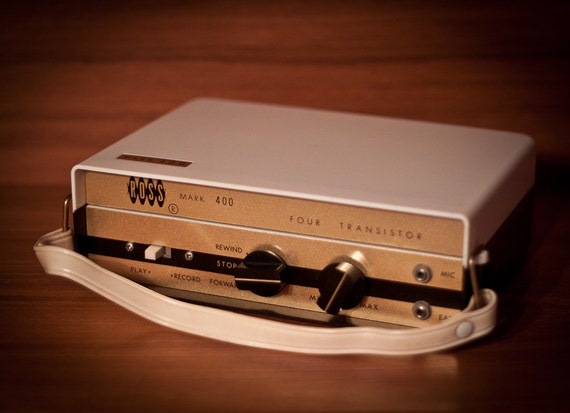 Vintage Ross Mark 400 Reel to Reel Tape Recorder