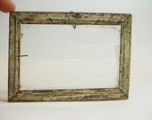 Darling antique rustic frame, use for home decor, altered art, shadow box, etc.
