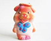 Cute vintage rubber pig, his name is Boris. Use him for mixed media art, photography projects, or company.