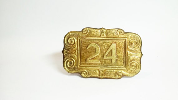 Door number 24 use for home decor, assemblage, art , photography prop