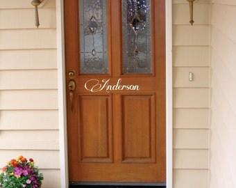 Hello Vinyl Word Art For Your Door Free Shipping Front Door