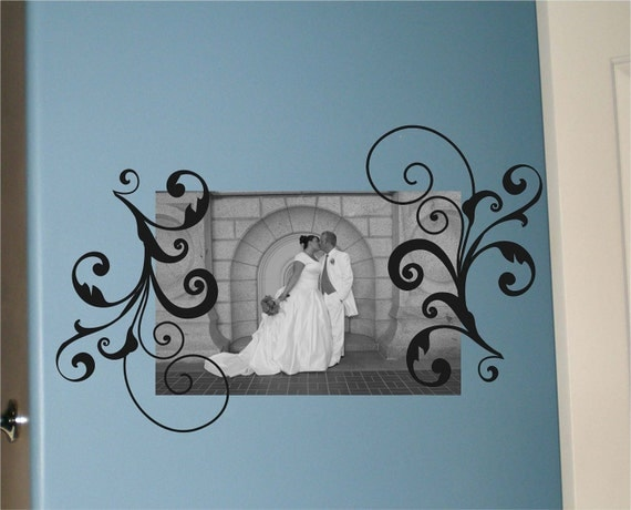 Vinyl Picture Holder- No more holes in the Wall  FREE SHIPPING