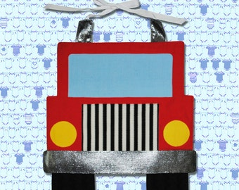 TRUCK Toddler Bib - PDF Pattern