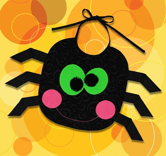 SPIDER BIB - PDF Downloadable Pattern (Baby and Toddler sizes)