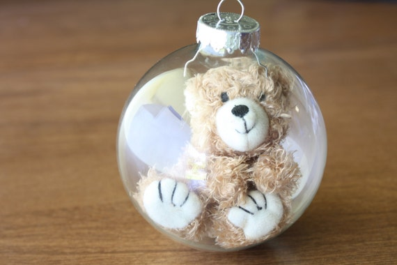 Baby's First Christmas Ornament- Teddy Bear