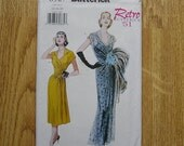 Butterick 6927 Misses Retro '51 Dress And Belt Sewing Pattern Sizes 14 16 18