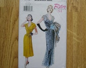 Butterick 6927 Misses Retro '51 Dress And Belt Sewing Pattern Sizes 20 22 24