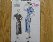 Butterick 6928 Misses Retro '53 Dress And Belt Sewing Pattern Sizes 20 22 24