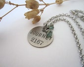 "Metal ""Journey"" Tag Necklace - 636designs"