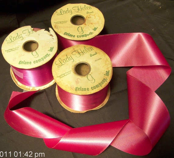 Lady Helen Brand Ribbon - Fushia Color