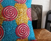 50% OFF African Wax Print Pillow Covers (RES for Kwasi)