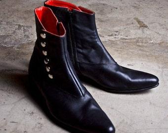 Catrin Black Boots