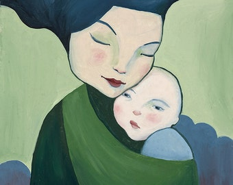 Mother and Child - Fine Art Print