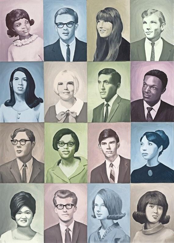 1960s Class - Fine Art Print