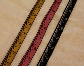 3 Yards of Decorative Measuring Tape Trims