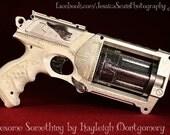 White Angel Themed Nerf Gun