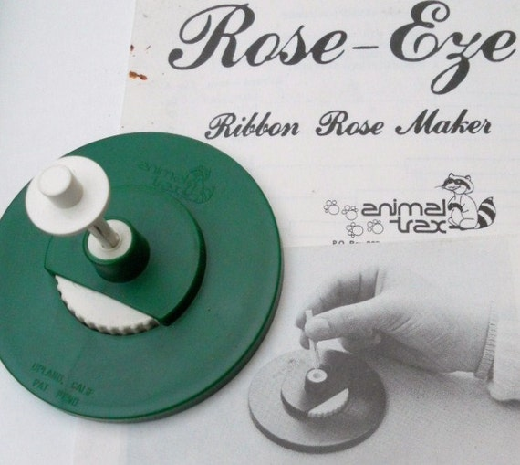Ribbon Rose Maker Vintage 1983 Flower Maker By Rose-Eye