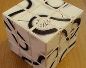 grigorusha Volleyball Cube 3x3x3 Rubik's Cube - Football FIFA Barsil 2014