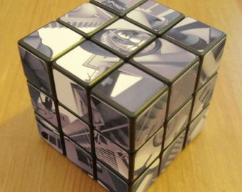Tribute to Escher Cube (aka Relativity Cube 3x3x3 Rubik's Cube)