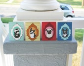 Pug, Boston Terrier & Ferret Cards - Set of 12