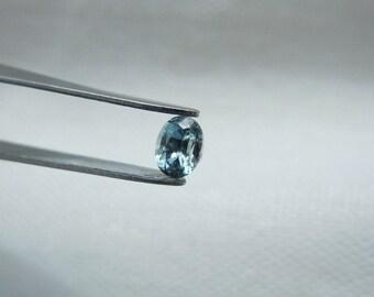 Fancy Montana Sapphire Oval Cut .24 carat 4x3mm