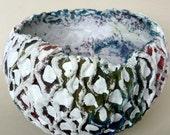 Decorative Original Paper Mache Bowl
