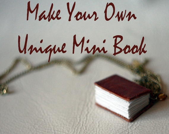 Special offer - Make Your Own Unique Mini Book